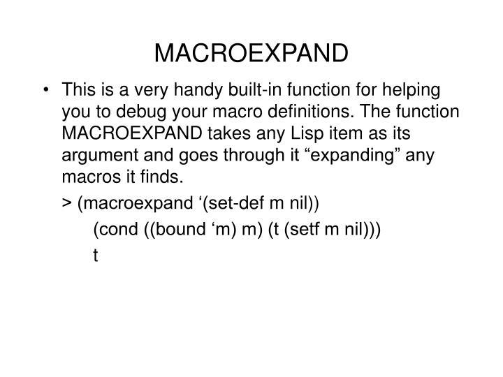 MACROEXPAND