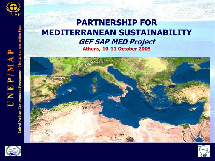 PARTNERSHIP FOR MEDITERRANEAN