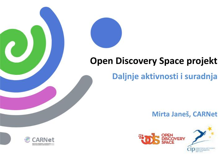 Open Discovery Space projekt