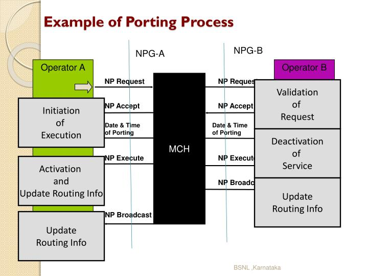 Example of Porting Process