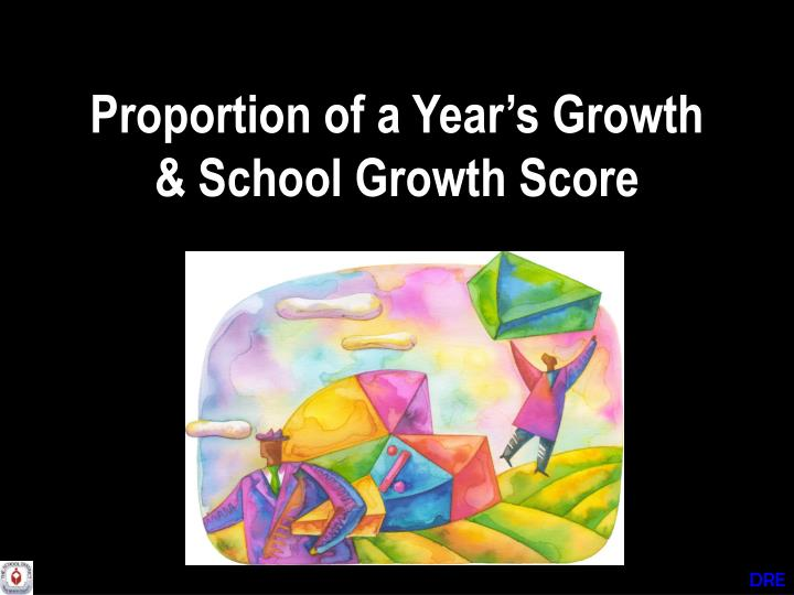 Proportion of a Year's Growth