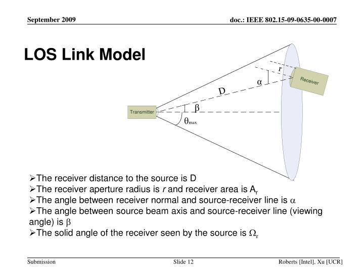 LOS Link Model