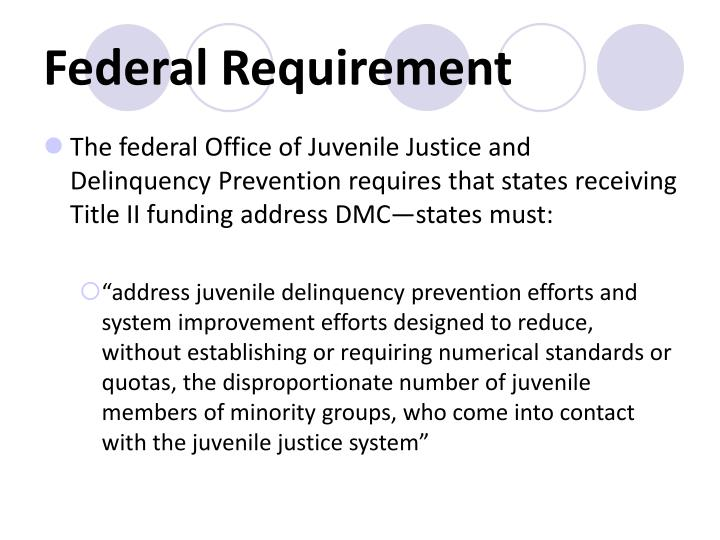 Federal Requirement