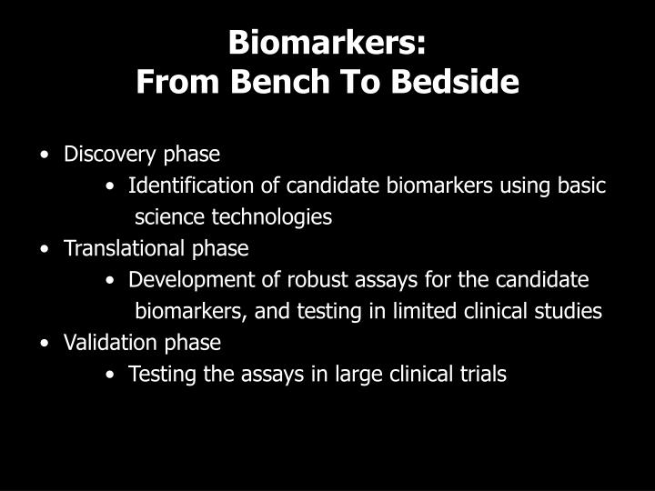 Biomarkers: