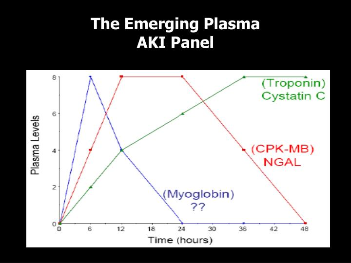 The Emerging Plasma