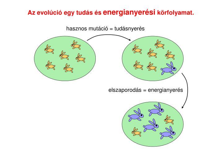 Az evolci egy tuds s