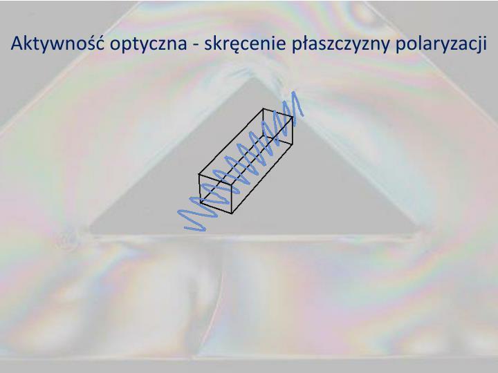 Aktywność optyczna