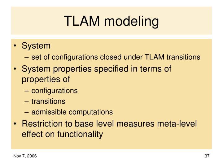 TLAM modeling