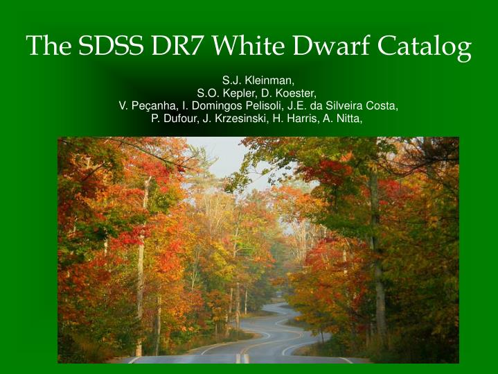 The sdss dr7 white dwarf catalog