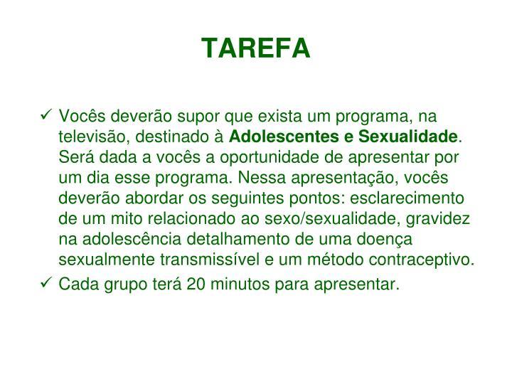 TAREFA