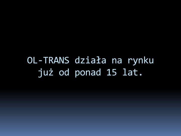 OL-TRANS działa