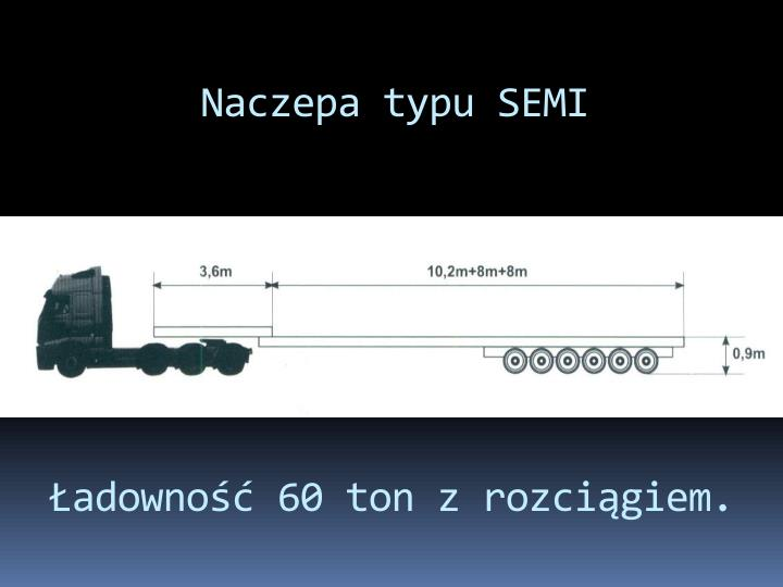 Naczepa typu SEMI