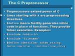 the c preprocessor