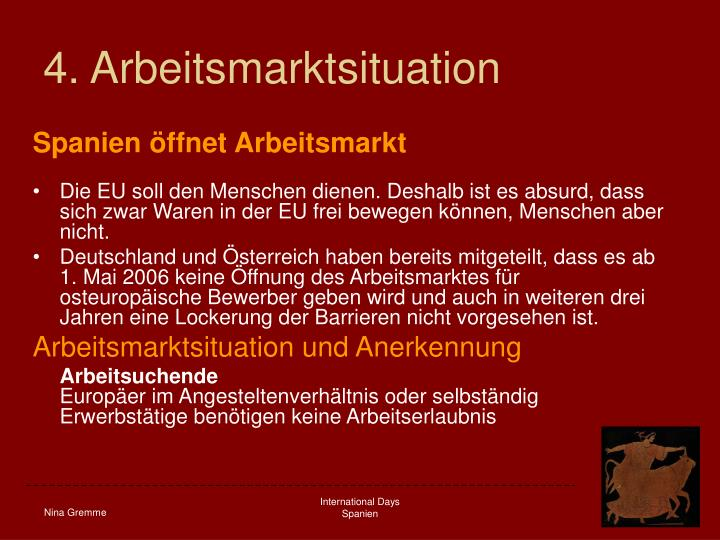 4. Arbeitsmarktsituation