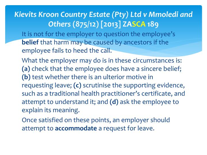 Kievits Kroon Country Estate (Pty) Ltd v Mmoledi and Others
