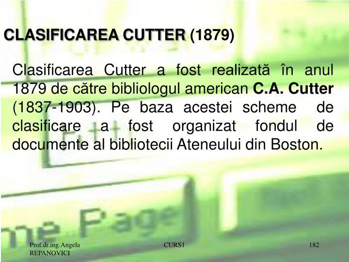 CLASIFICAREA CUTTER