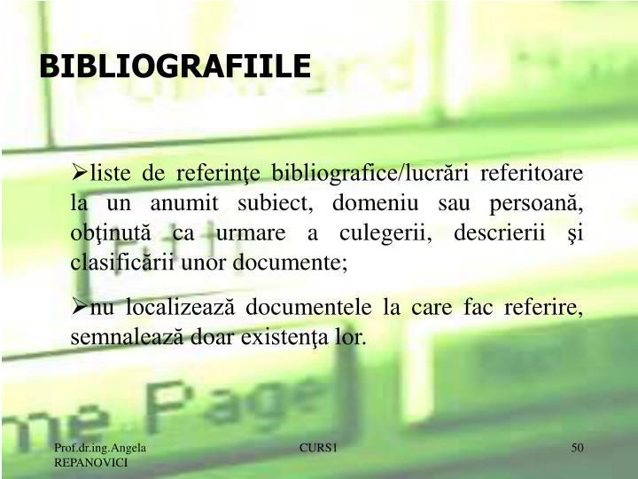 BIBLIOGRAFIILE
