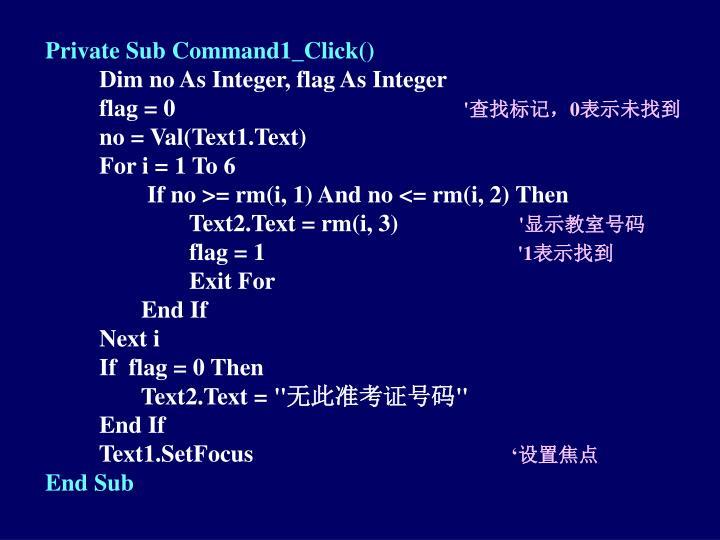Private Sub Command1_Click()