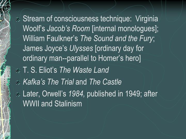 william faulkner stream of consciousness Mahmoud ali ahmed, nada hassan mohammed ahmed-the trends of stream of consciousness technique in william faulkner's novels european academic research - vol iv, issue 3 / june 2016.