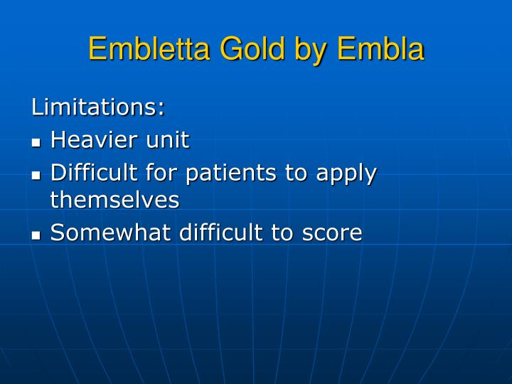 Embletta Gold by Embla