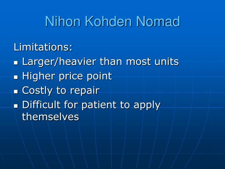 Nihon Kohden Nomad
