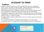glossary of terms4