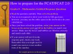how to prepare for the fcat fcat 2 014