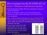 how to prepare for the fcat fcat 2 04
