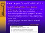 how to prepare for the fcat fcat 2 06