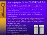 how to prepare for the fcat fcat 2 09