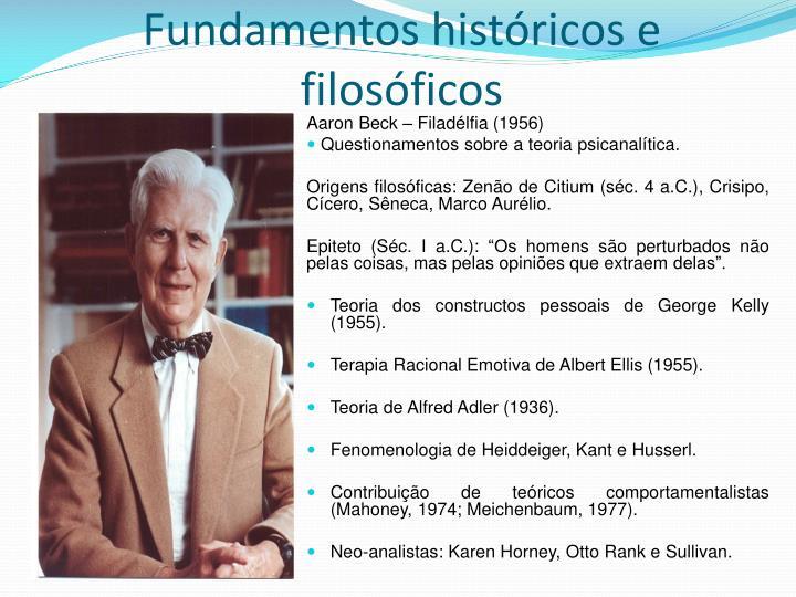 Fundamentos históricos e filosóficos
