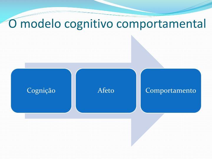 O modelo cognitivo comportamental