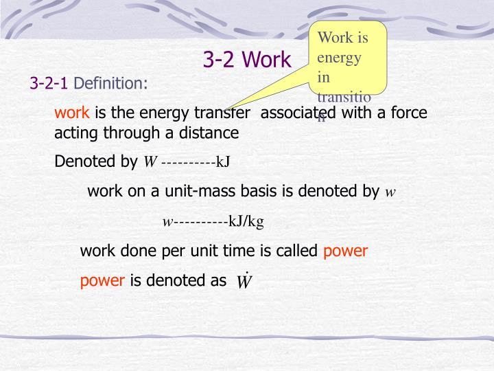 3-2 Work