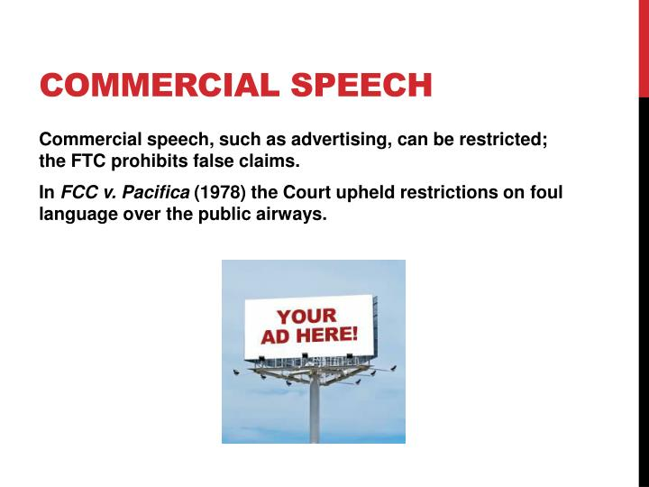 Commercial Speech