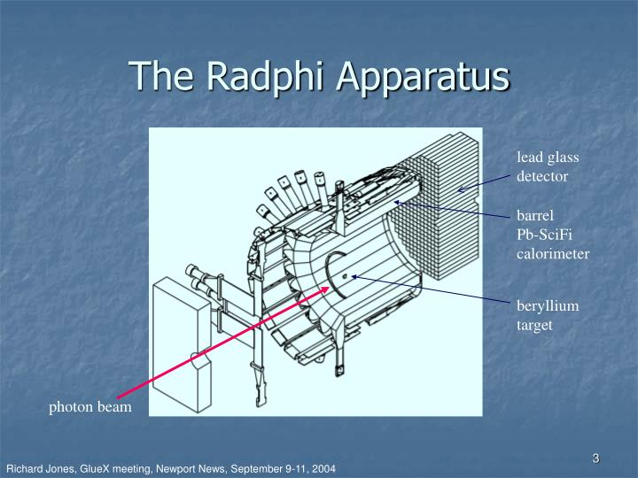 The Radphi Apparatus