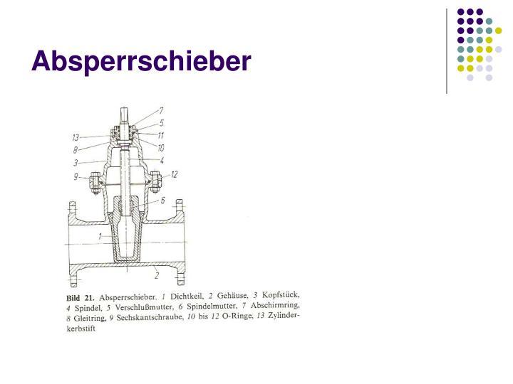 Absperrschieber