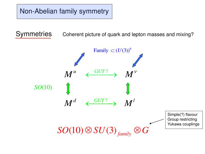 Non-Abelian family symmetry