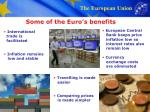 some of the euro s benefits