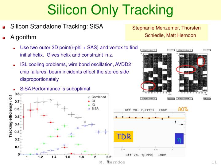 Silicon Only Tracking