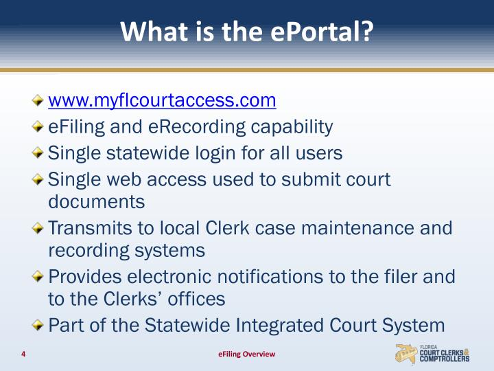 What is the ePortal?