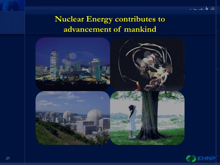 Nuclear Energy contributes to