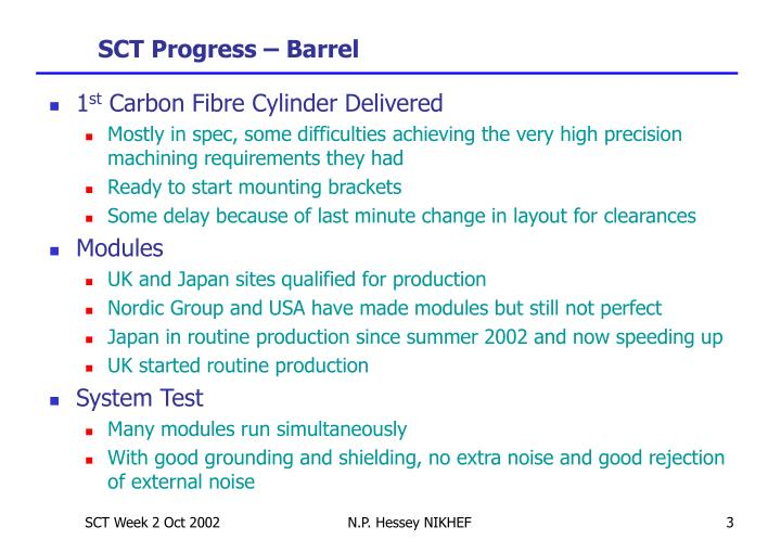 Sct progress barrel