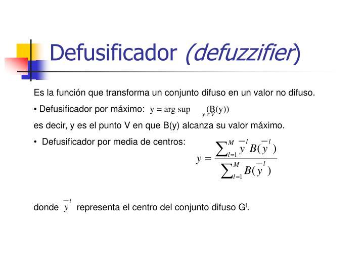 Defusificador