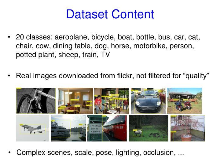 Dataset Content