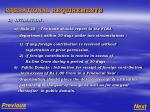 operational requirements4