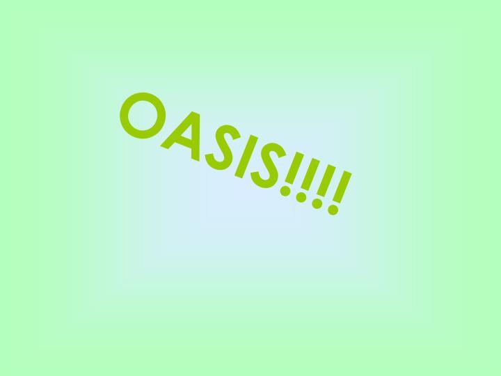 OASIS!!!!