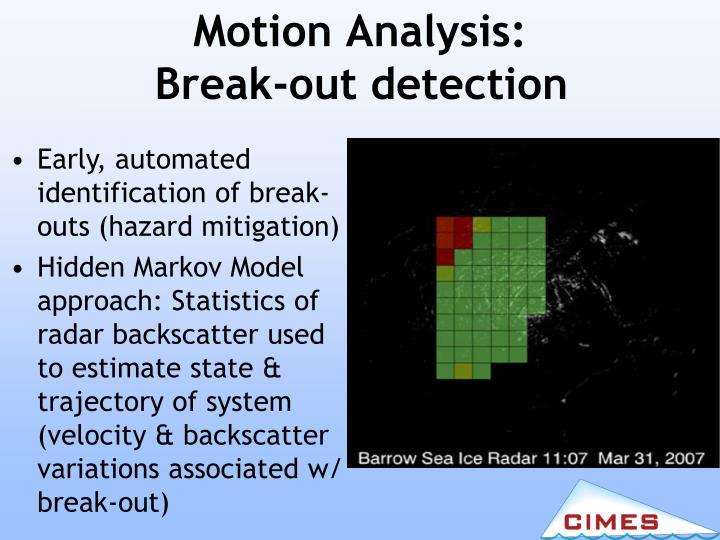 Motion Analysis: