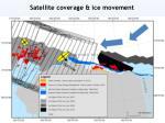 satellite coverage ice movement