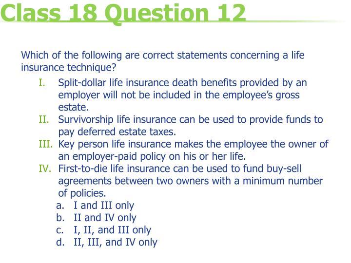 Class 18 Question 12
