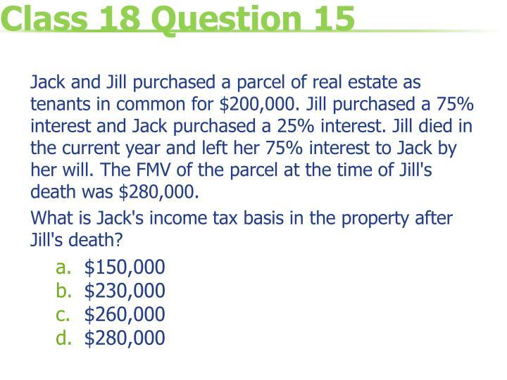 Class 18 Question 15